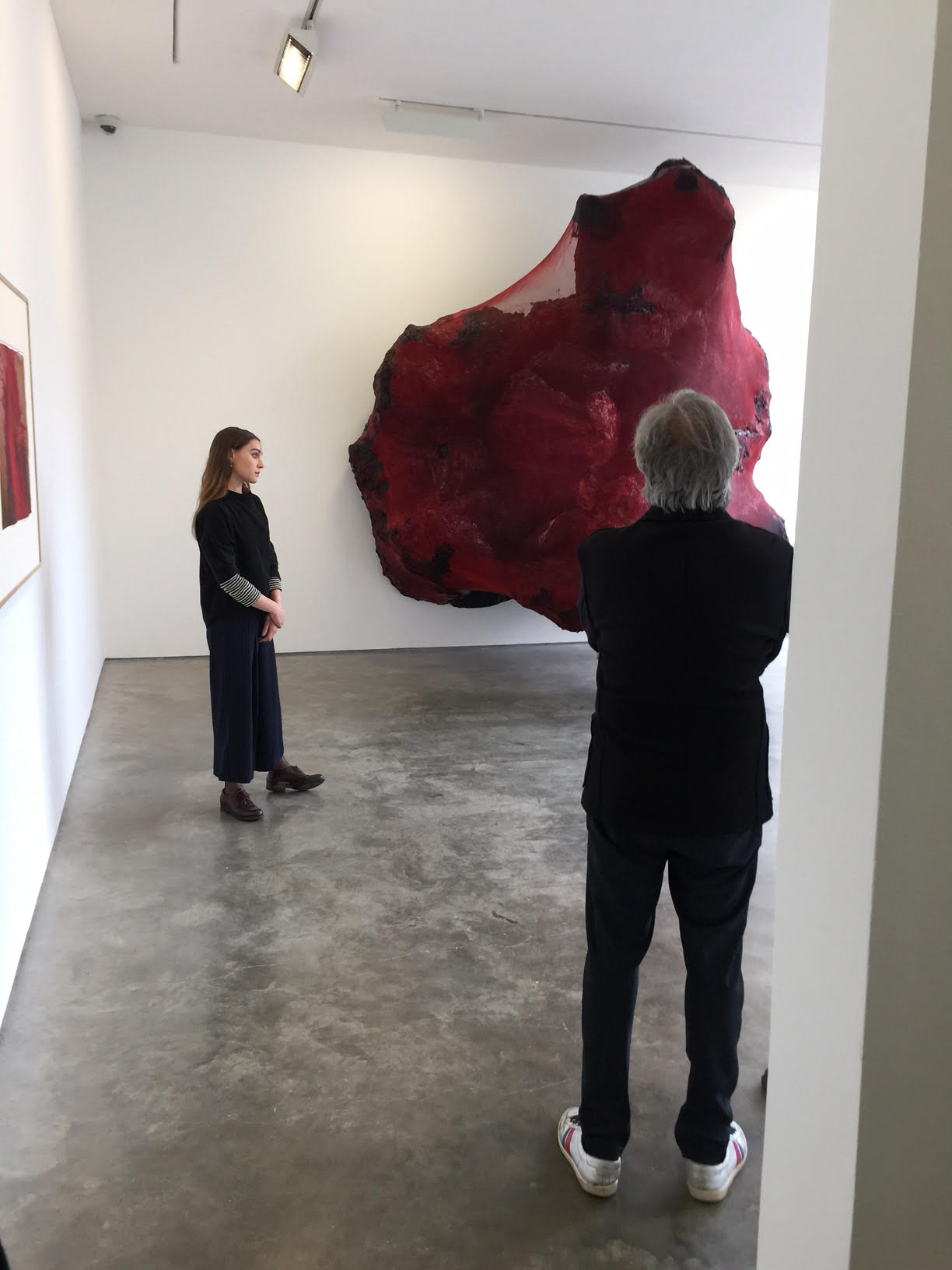 Anish Kapoor Lisson gallery image by Mark Hayes Westall