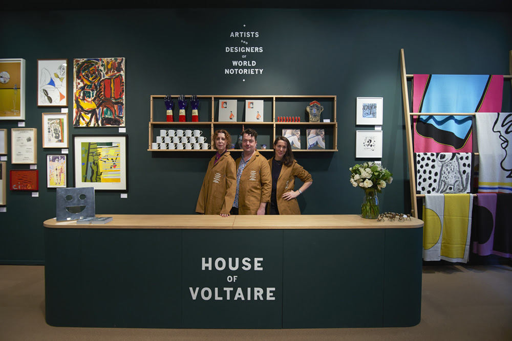 House of Voltaire returns to the heart of Mayfair with over 150 new and exclusive unique artworks. FAD magazine