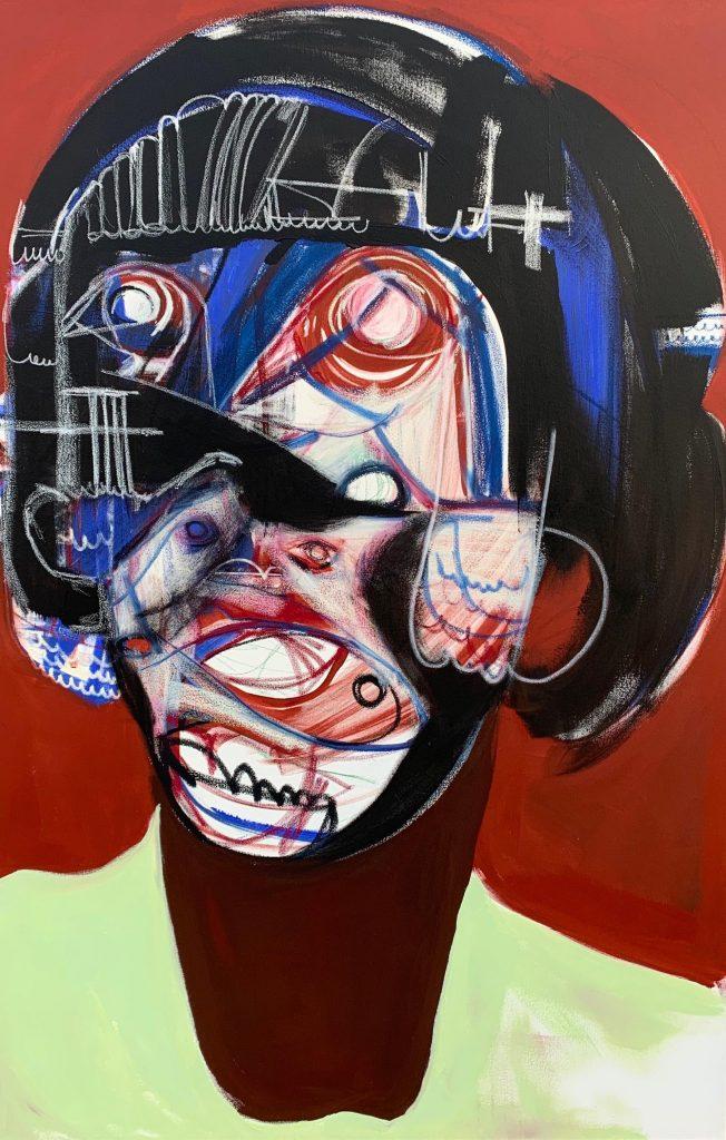 Genesis Tramaine, Black Woman University, 2020.  Courtesy of the Richard Beavers Gallery