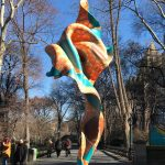 Public Art Fund presents Yinka Shonibare MBE's 'Wind Sculpture (SG) I' at Central Park, New York