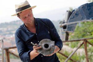2018 Verbier 3-D Residency Artist is James Capper
