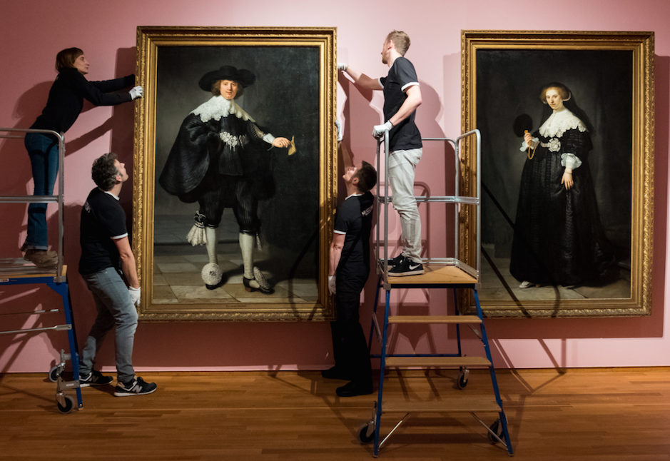 Marten Soolmans & Oopjen Coppit, Rembrandt's only pair of full length portraits will go on show for the first time FAD Magazine