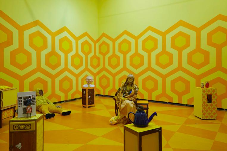Lindsey Mendick, The Yellow Wallpaper, at Eastside Projects, Birmingham, 2020. FAD MAGAZINE