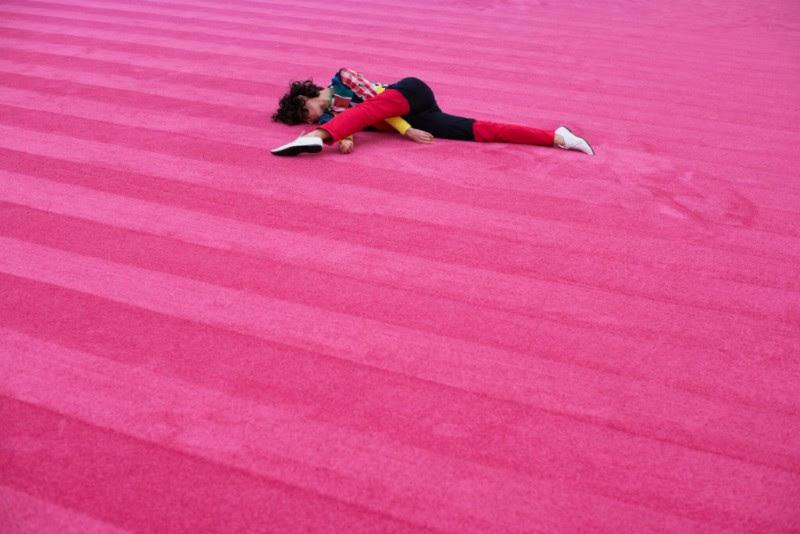 Maria Hassabi, STAGING: Solo #2. Photo: Thomas Poravas