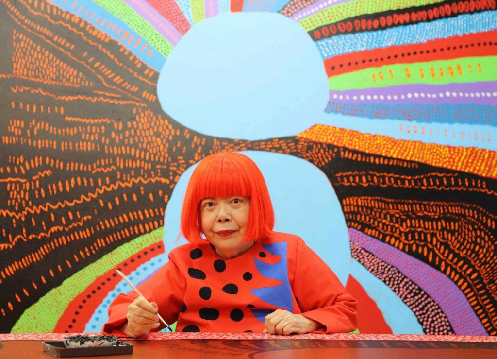 Portrait of Yayoi Kusama © Yayoi Kusama