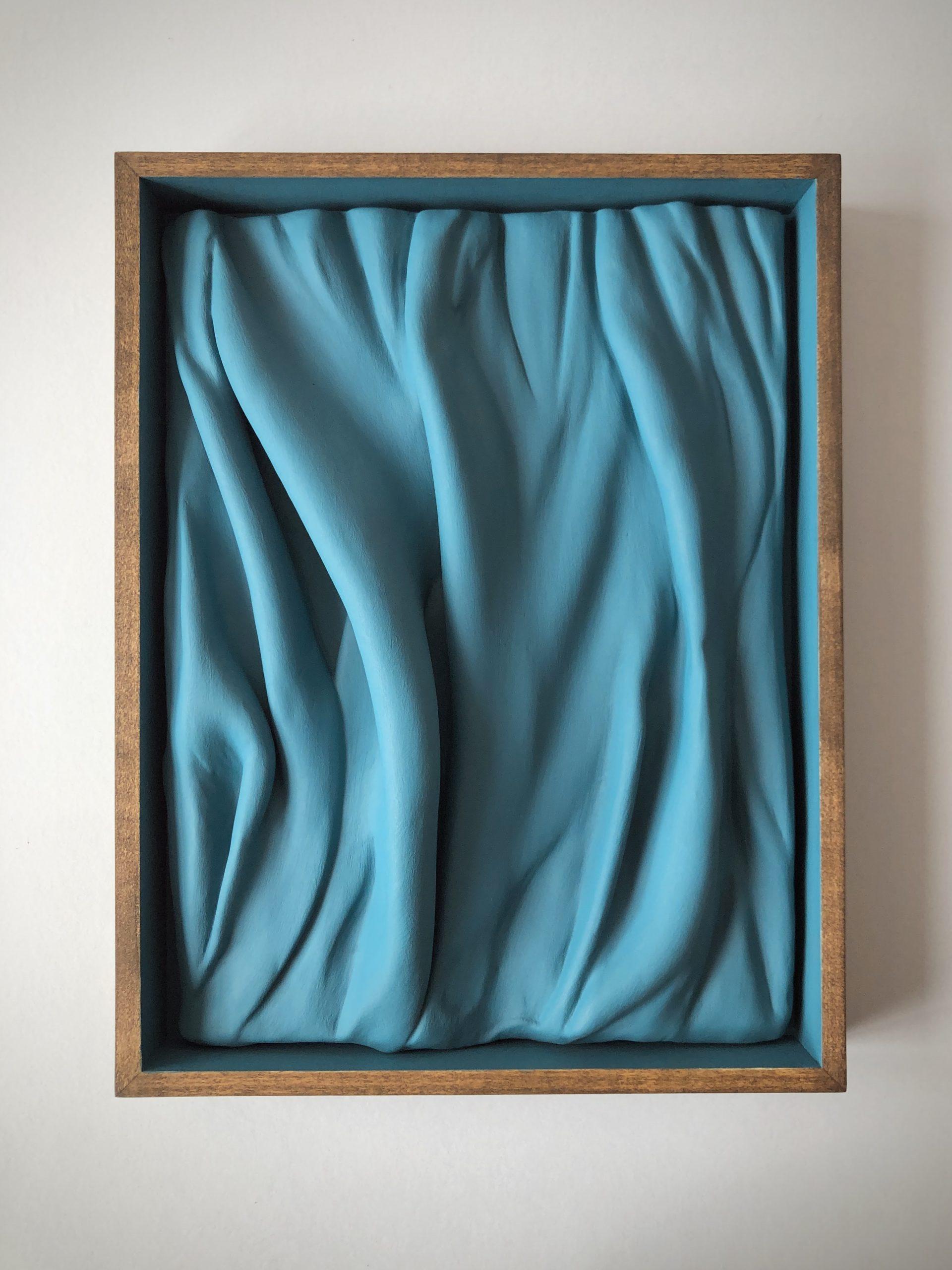 Richard Stone, lift not the painted veil iii (towards the marine blue sea), 2020 (34.5 x 27.5 x 5 cm) FAD magazine