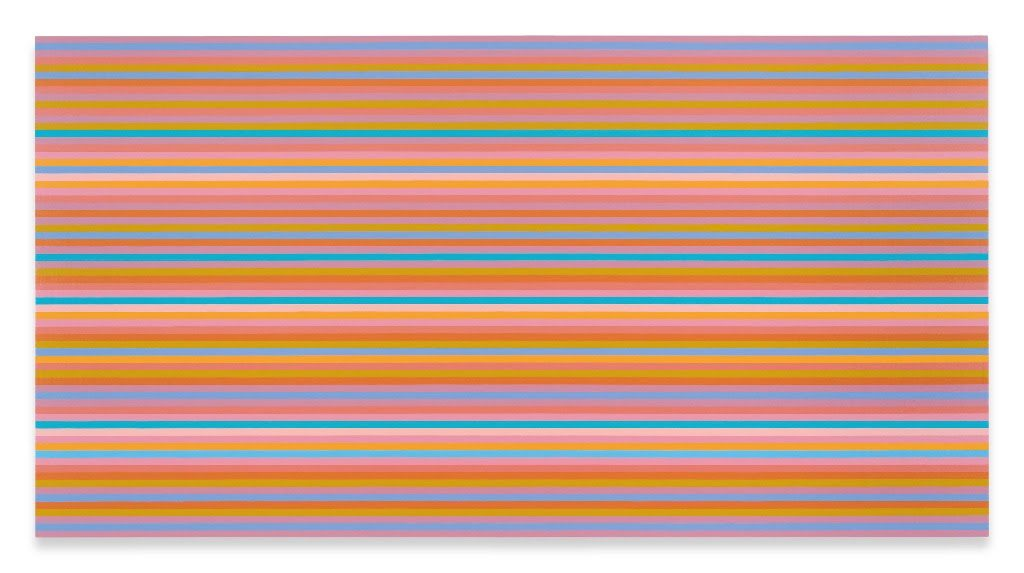 Image: Bridget Riley, Memories of Horizons 3, 2014 © Bridget Riley 2018. All Rights Reserved.