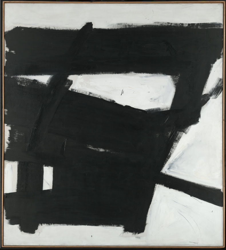 Franz Kline, Wanamaker Block, 1955 Yale University Art Gallery, Gift of Richard Brown Baker, B.A. 1935 © 2018 The Franz Kline Estate / Artists Rights Society (ARS), New York  Jennifer Gross, Executive Director of Hauser & Wirth Institute Photo: Axel Dupeux