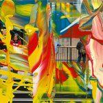 Gerhard Richter, MV. 92, 2011 Lacquer on color photograph, 4 × 5 ? inches (10 × 15 cm) © Gerhard Richter 2019 (15032019)