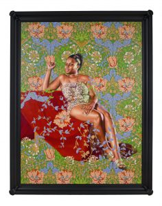 Kehinde Wiley, Saint Jerome Hearing the Trumpet of Last Judgment, 2018 © 2019 Kehinde Wiley. Courtesy of Roberts Projects.