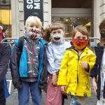 Enough Air Pollution: Extinction Rebellion UK stage die-in at the Science Museum