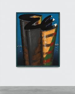 Image: Markus Lüpertz, Babylon-dithyrambisch VI, 1975, Distemper on canvas, 62 3/4 x 50 inches; 159,5 x 127 cm. Photo: Hugard & Vanoverschelde - Courtesy of the Artist and Almine Rech Gallery © Markus Lüpertz