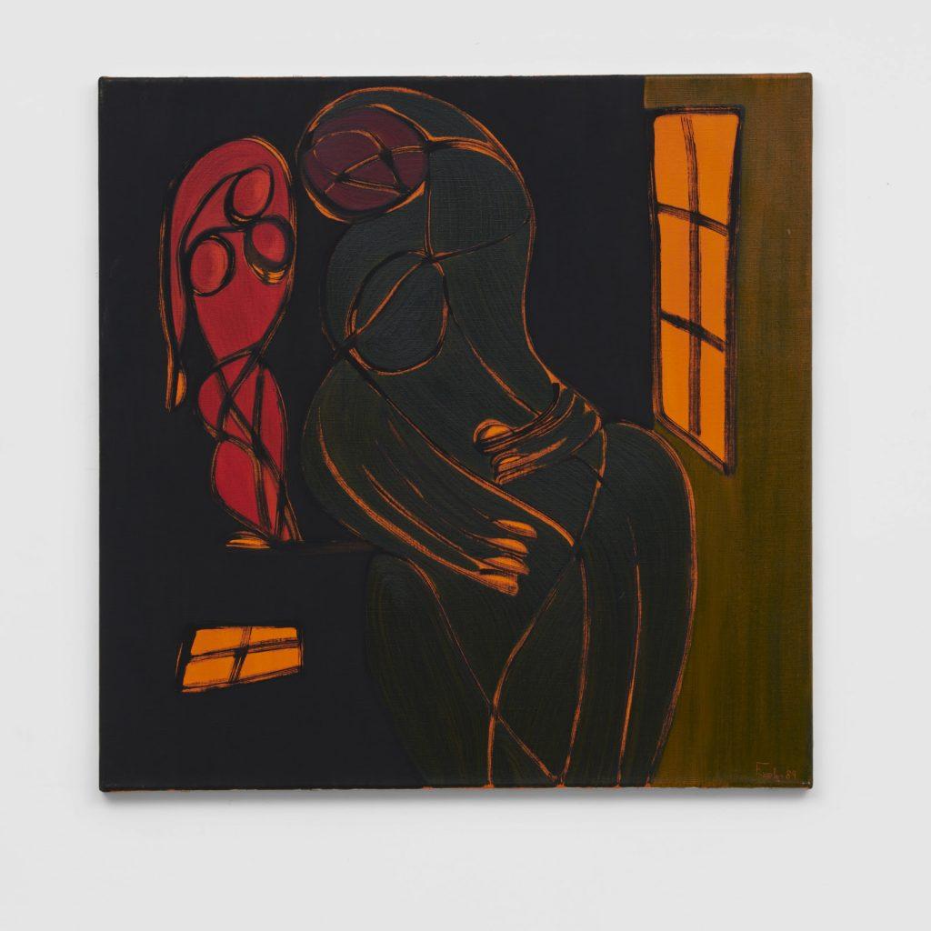 Everlyn Nicodemus, Silent Strength I, 1989.