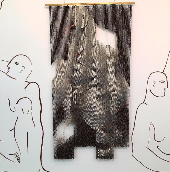 Zoe Paul 'Drop it like it's hot', 2016 @ Breeder gallery