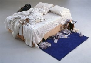 Tracey Emin, My Bed, 1998 © Tracey Emin. All rights reserved, DACS 2014. Photo credit: Courtesy The Saatchi Gallery, London / Photograph by Prudence Cuming Associates Ltd