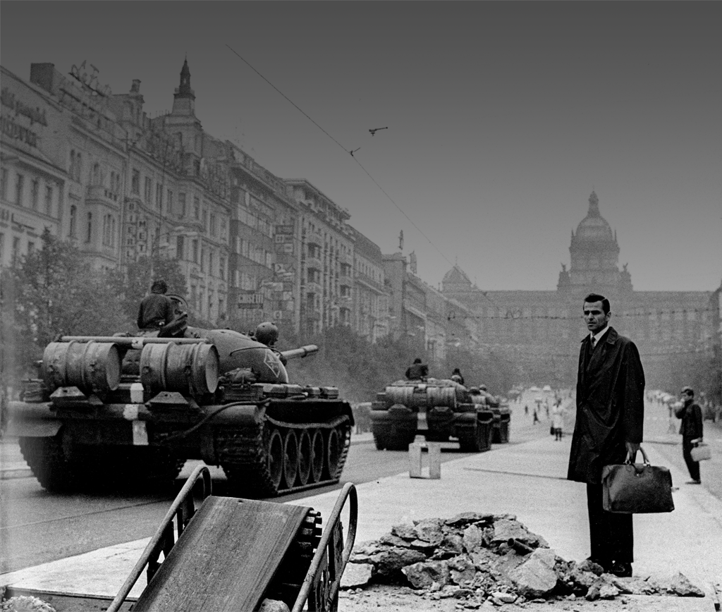 Jan N?mec, The Soviet invasion to Prague (Czechoslovakia) on 21 August, 1968 (St Wenceslas Square).