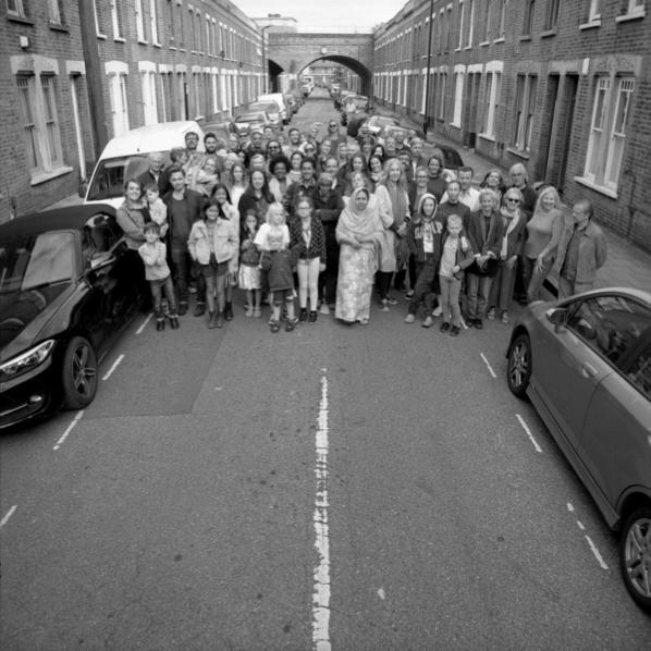 Residents and By Beck Road 19 Artists, September 2019 Photo credit: Edward Woodman, © 2019 Edward Woodman.