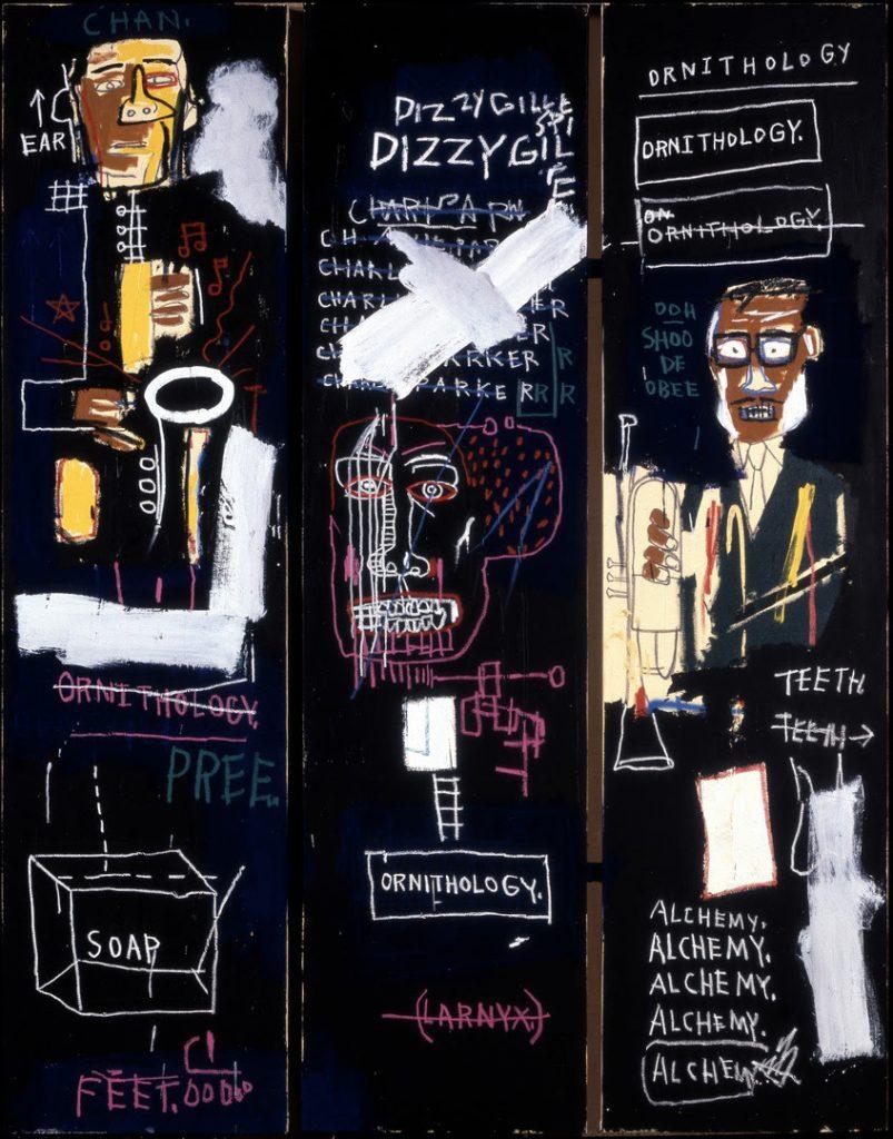 Jean-Michel Basquiat, Horn Players, 1983 © The Estate of Jean-Michel Basquiat. Licensed by Artestar, New York. Photo: Douglas M. Parker Studio, Los Angeles.