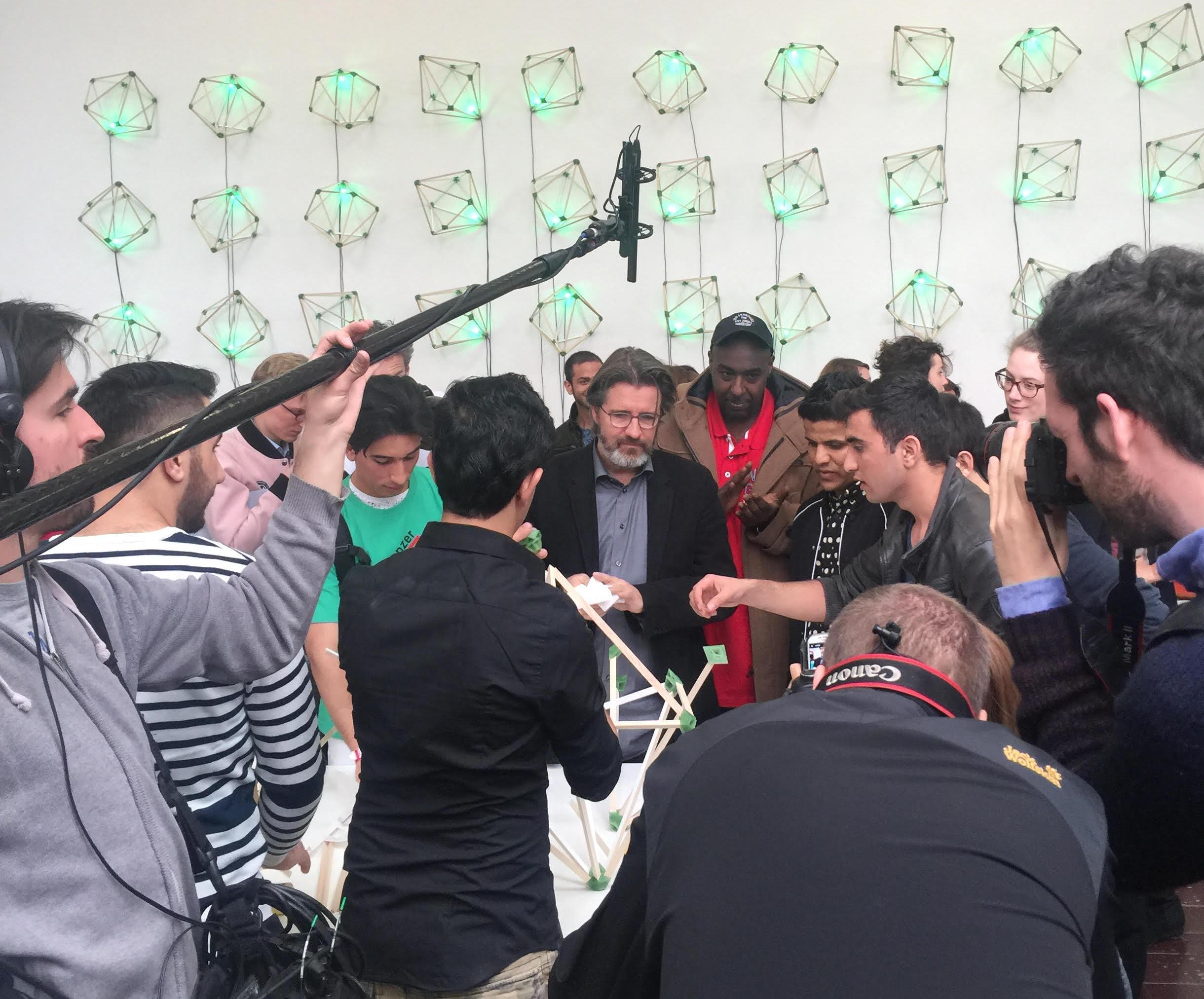 Olafur Eliasson at TBA21 Green Light