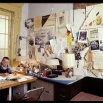 Louise Bourgeois in her home on West 20th Street, New York, 2000. Photo: © Jean-François Jaussaud © The Easton Foundation/VAGA at ARS, NY Courtesy The Easton Foundation and Hauser & Wirth