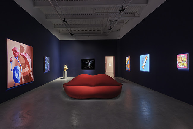 Install shot (online) at the Hole New York  FAD MAGAZINE