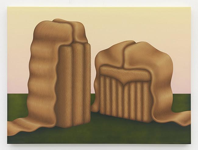 Molly Greene Dogged Habit, 2020, Acrylic on canvas, 30 x 40 inches, 76 x 102 cm FAD MAGAZINE