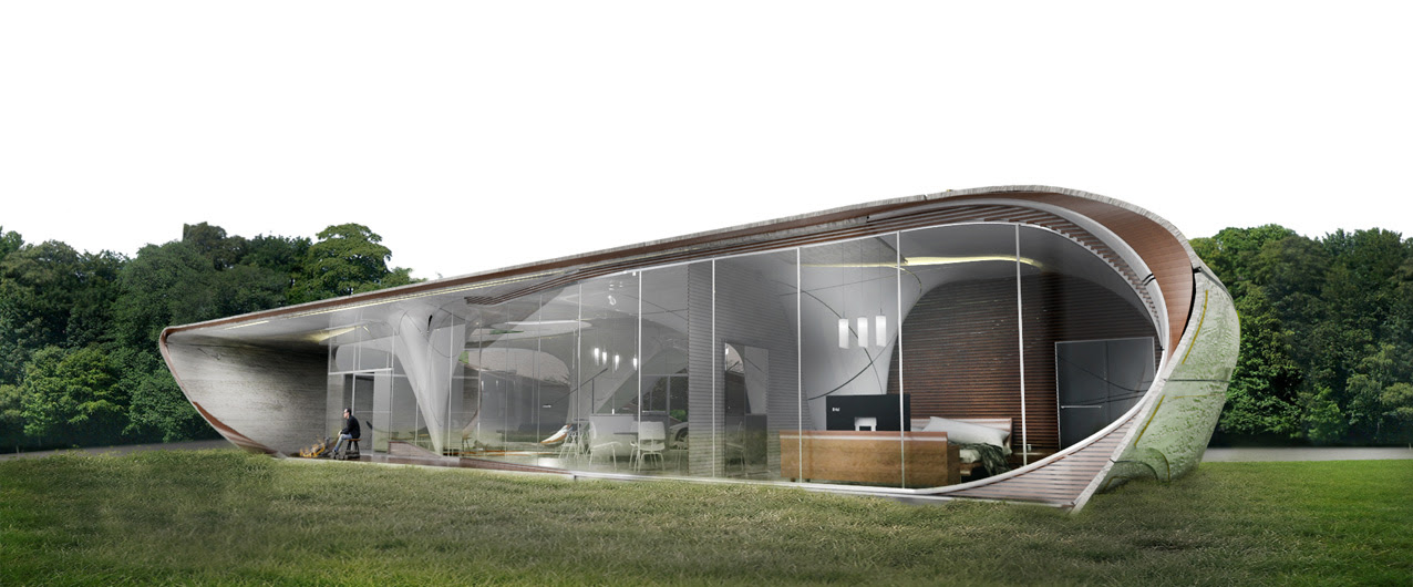 World's first freeform 3D printed house announced
