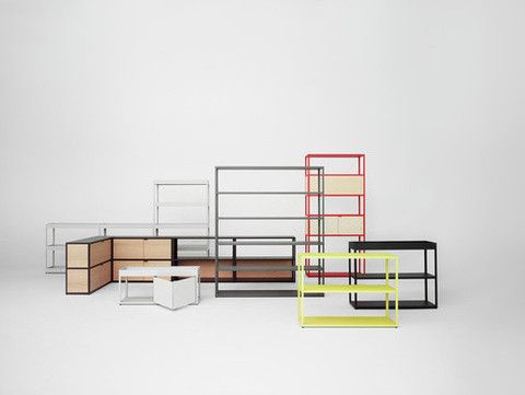 Award Winning German Designer Stefan Z Has Created A Clever System Of Office Storage For Hay An Extension The Carefully Led New Order