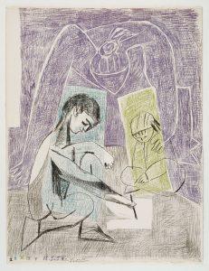 Picasso 'Le petit artiste
