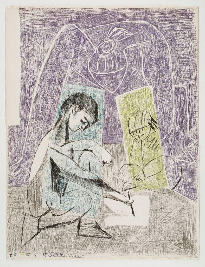 Picasso Le petit artiste