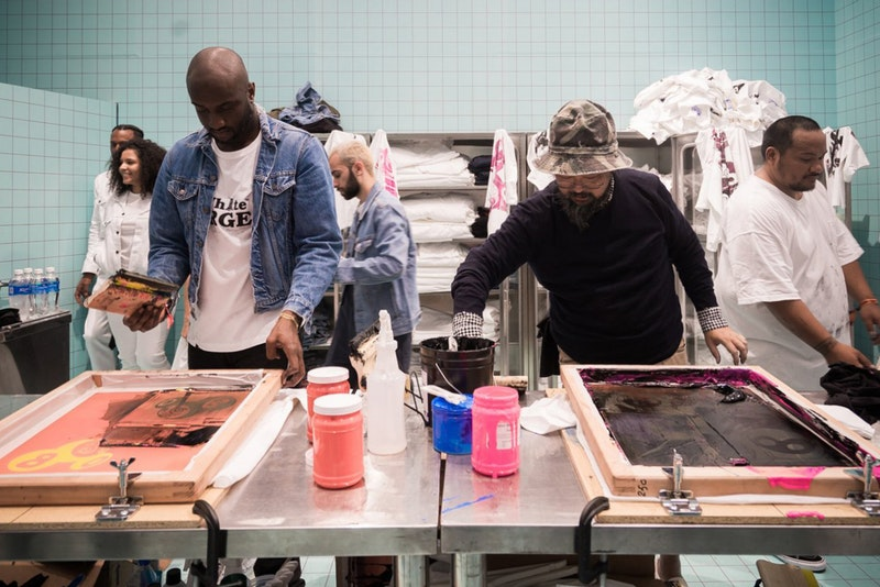 virgil-abloh-takashi-murakami-gagosian-gallery-work-in-progress-teaser-FAD Magazine