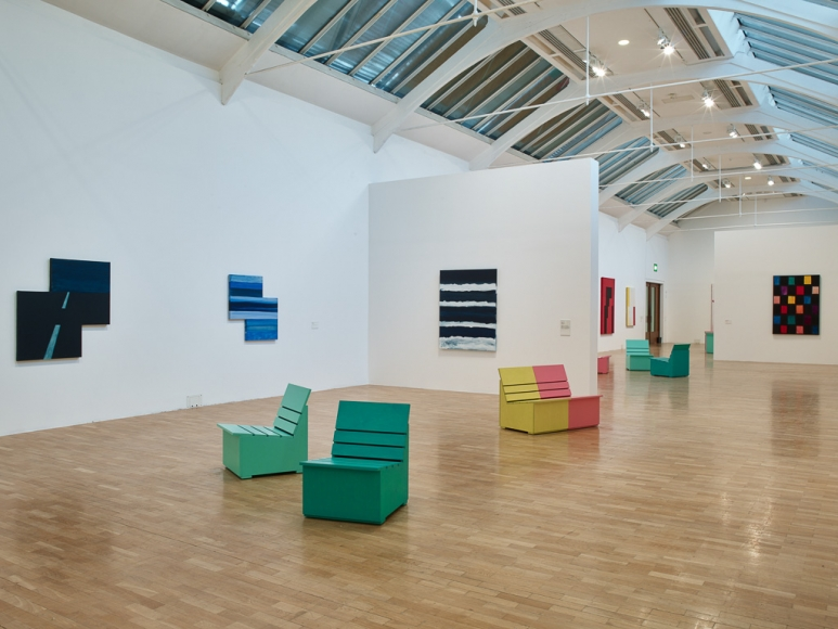 Mary Heilmann, currently showing at Whitechapel Gallery