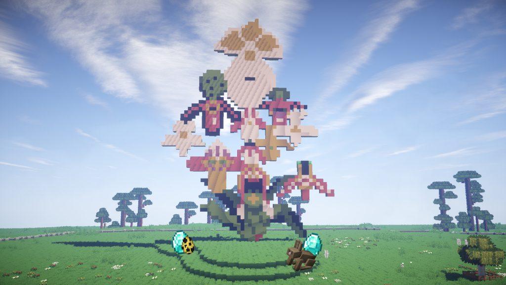 FAD MAGAZINE Jupiter Artland opens virtual sculpture park in Minecraft.
