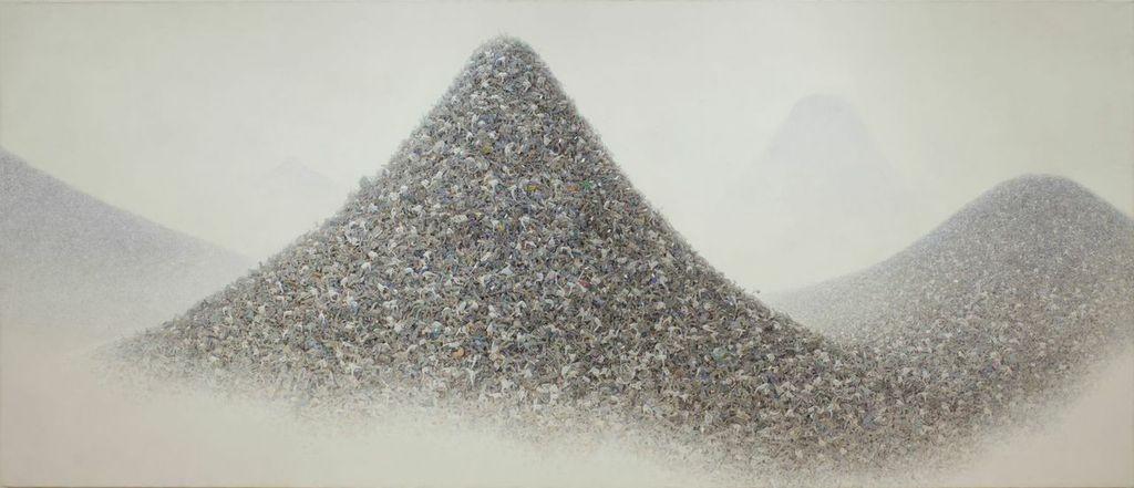 Aida Mokoto, Ash Colour Mountains 2009