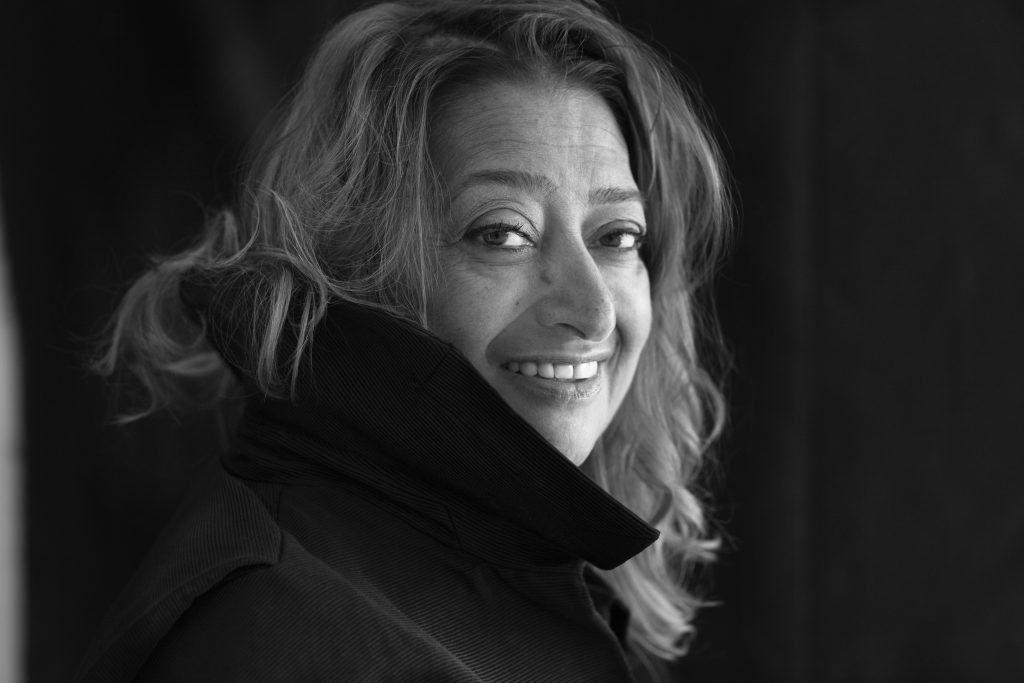 Zaha Hadid by Brigitte Lacombe © Brigitte Lacombe
